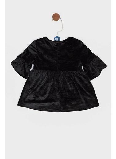 BG Baby Kız Bebek Siyah Elbise Siyah